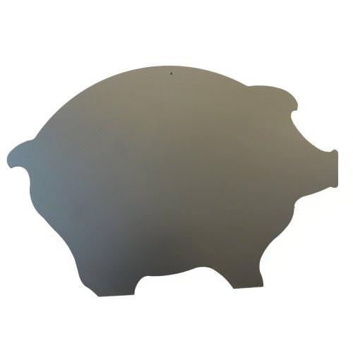 Kreidetafel schwarz, Schweinform